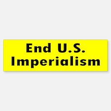 IMPERIALISM ... Bumper Bumper Bumper Sticker