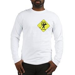 Cthulhu Crossing! Long Sleeve T-Shirt