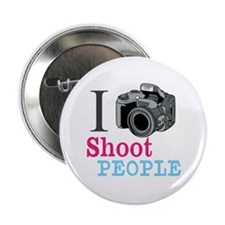 "I Shoot People 2.25"" Button (10 pack)"