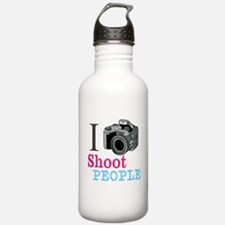 I Shoot People Water Bottle