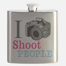 I Shoot People Flask