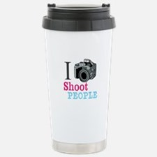 I Shoot People Stainless Steel Travel Mug
