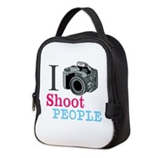 I Shoot People Neoprene Lunch Bag