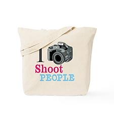 I Shoot People Tote Bag