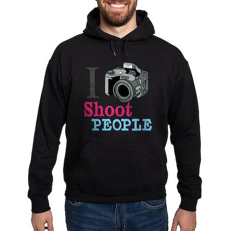 I Shoot People Hoodie (dark)