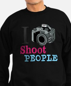 I Shoot People Sweatshirt (dark)