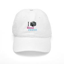 I Shoot People Baseball Cap