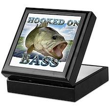 Hooked on Bass Keepsake Box