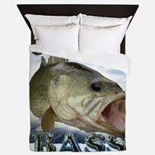 Hooked on Bass Queen Duvet