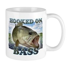 Hooked on Bass Mugs