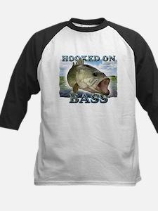 Hooked on Bass Baseball Jersey