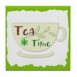 Tea Time Tile Coaster