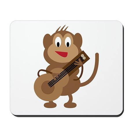 Monkey Playing Guitar Mousepad