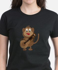 Monkey Playing Guitar T-Shirt