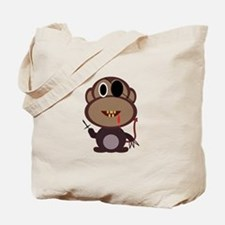 Evil Monkey Tote Bag