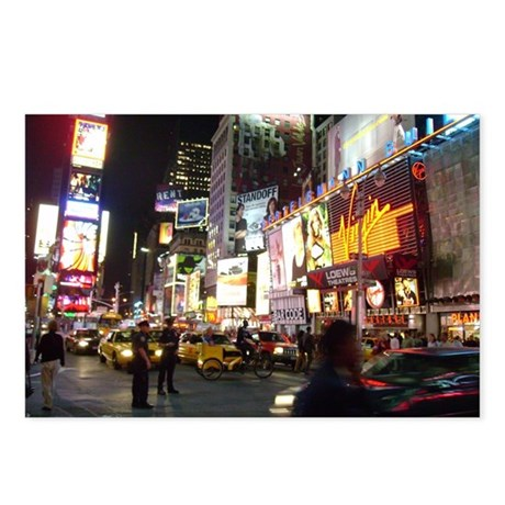 NYC Live Postcards (Package of 8)