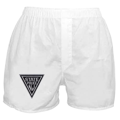 New Jersey State Police Boxer Shorts