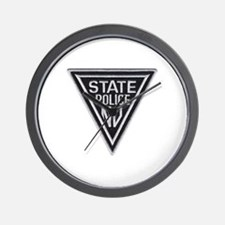 New Jersey State Police Wall Clock