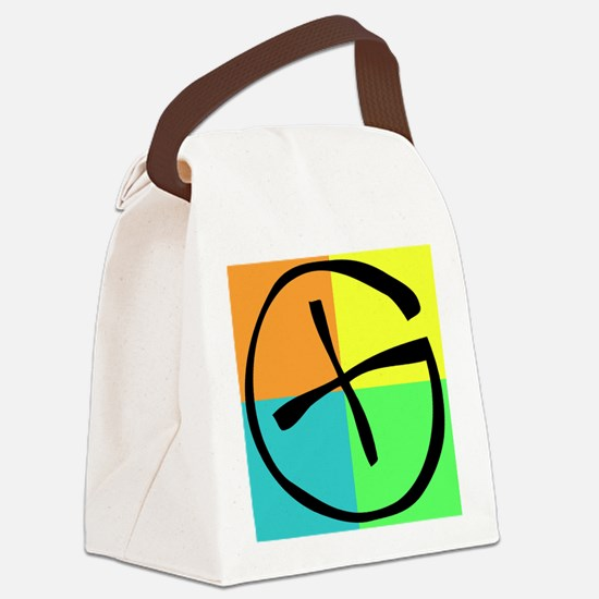 Funny Geocaching Canvas Lunch Bag