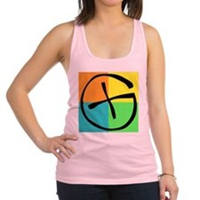 Cute Geocaching Racerback Tank Top