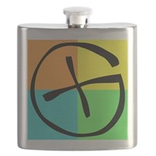 Cute Geocaching Flask