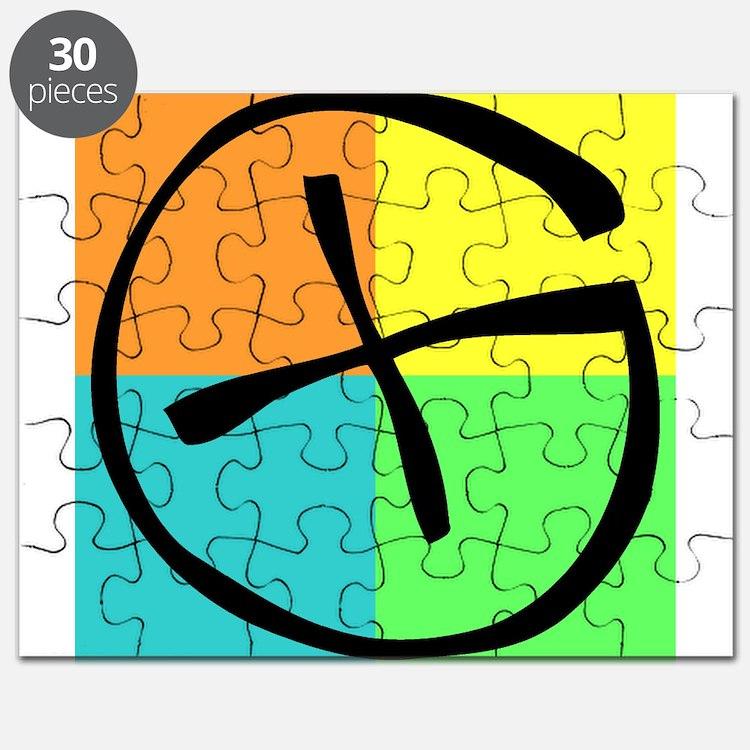 Cute Geocaching Puzzle