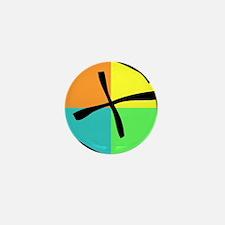 Cute Geocaching Mini Button (100 pack)