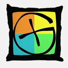 Cute Geocaching Throw Pillow