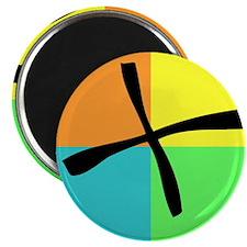 """Cute Geocache 2.25"""" Magnet (10 pack)"""