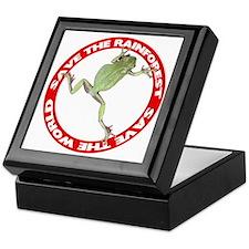 Save The Rainforest Keepsake Box