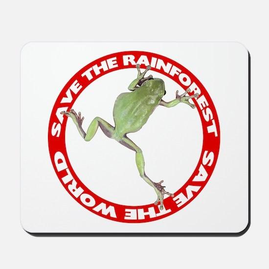 Save The Rainforest Mousepad