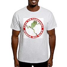 Save The Rainforest Ash Grey T-Shirt
