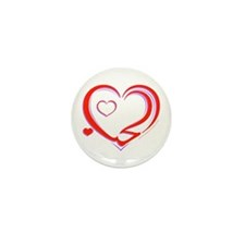 """Love"", ""Al-Hub"" Mini Button (10 pack)"