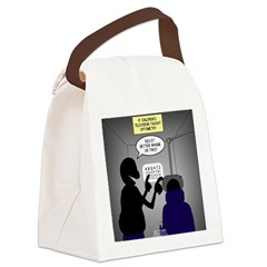 Is it Better 1 or 2? Canvas Lunch Bag