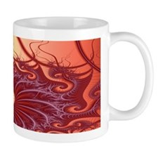 """Moonlight"" Fractal Art Mug"