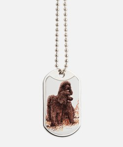 Irish Water Spaniel fixed.tif Dog Tags