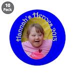 """Hannah 3.5"""" Button (10 pack)"""