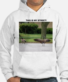 PERSONALIZE TEXT THIS IS MY STREET! Hoodie