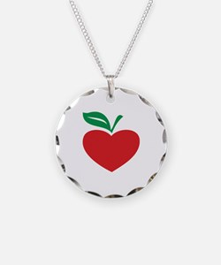 Apple heart Necklace