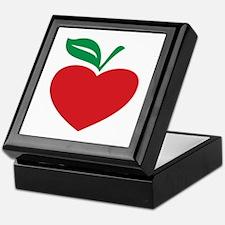 Apple heart Keepsake Box