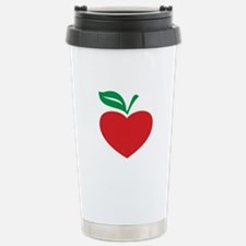 Apple heart Thermos Mug