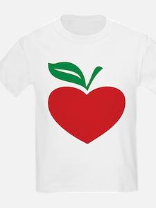 Apple heart T-Shirt