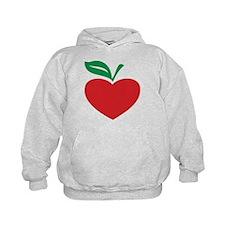 Apple heart Hoodie