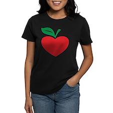 Apple heart Tee
