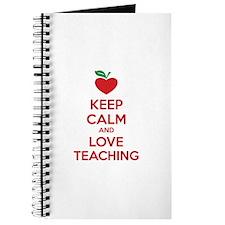 Keep calm and love teaching Journal
