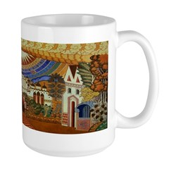 Russian Town Square Mug