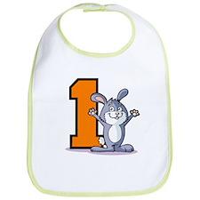 1st Birthday Bunny Bib