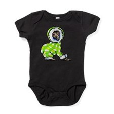Italian Greyhound Snowsuit Baby Bodysuit