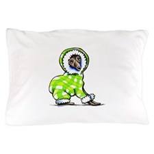 Italian Greyhound Snowsuit Pillow Case