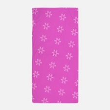 Pink Hues Breast Cancer Support 32 Beach Towel
